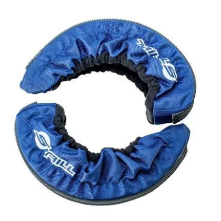Мягкий чехол для коньков Staill, детский XS, 1680D, синий