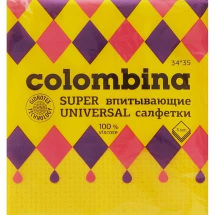 Салфетка супервпитывающая Colombina, 3шт