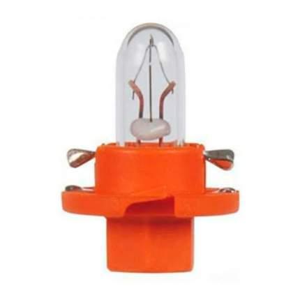 Лампа BAX 12V 1W BX8,5d orangeNVA CP