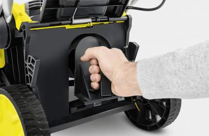 Аккумуляторная газонокосилка Karcher 1.444-420.0 LMO 18-36 Battery АКБ и ЗУ в комплекте