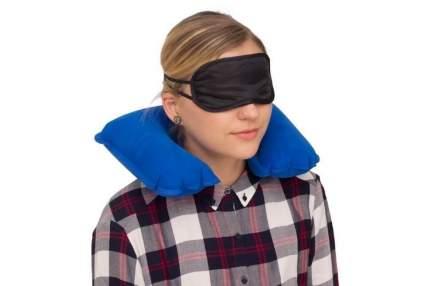 Дорожный набор Verona Pillow, 3 предмета, синий