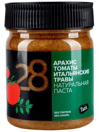 Арахисовая паста Татис с томатами и итальянскими травами 200 г