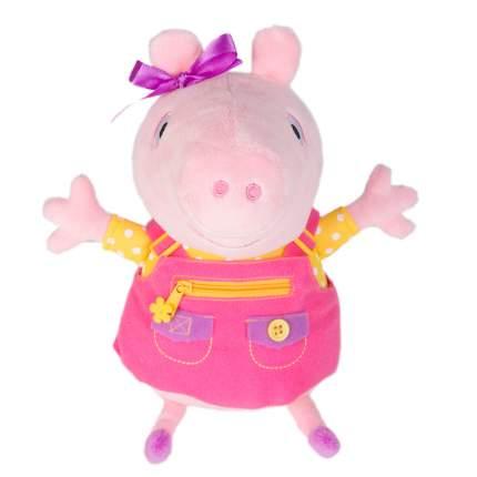 Мягкая игрушка Peppa Pig Пеппа учит одеваться