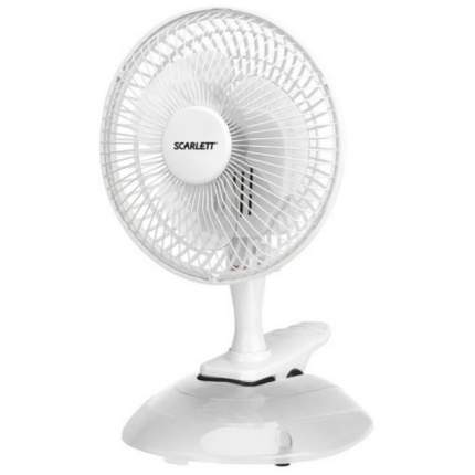 Вентилятор настольный Scarlett SC-DF111S01 white