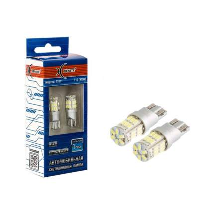 Лампа светодиодная 12V W5W T10 W2.1х9.5d 210Lm бесцокольная блистер (2шт.) XENITE