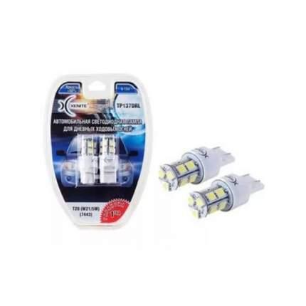 Лампа светодиодная 12V W21/5W W2.5х16q бесцокольная блистер (2шт.) XENITE