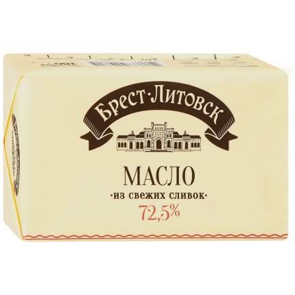 Масло брест-литовск  сладко-сливочное несоленое 72,5 % 180 г