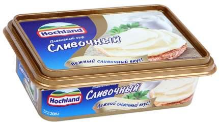 Сыр хохланд плавленый бзмж сливочный жир. 55 % 200 г пл/ванна хохланд руссланд россия