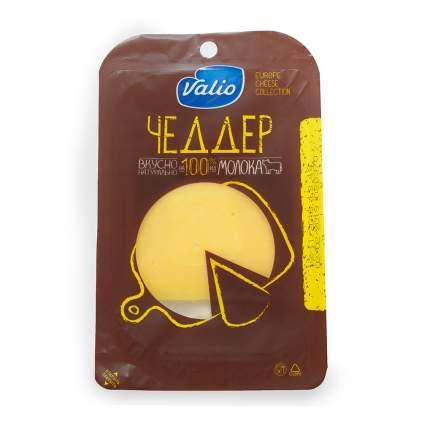 Сыр валио чеддер п/тверд нарезка бзмж жир. 48 % 120 г газ/среда валио россия