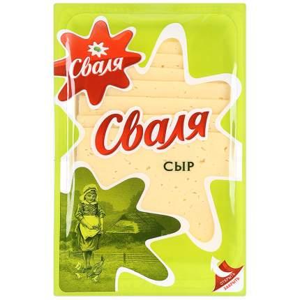 Сыр сваля тильзитер нарезка бзмж жир. 45 % 200 г пл/уп # пир-пак россия