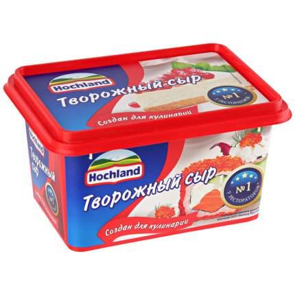 Сыр хохланд творожный бзмж д/кулинарии жир. 65 % 400 г пл/ванна хохланд русланд россия