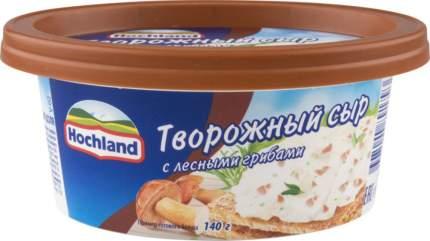 Сыр творожный Hochland с лесными грибами, 140 г