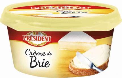 Сыр плавленый президент бзмж крем де блё жир. 50 % 125 г пл/б ооо «лакталис истра» россия