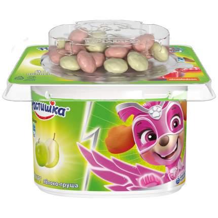 Йогурт Растишка детский старше 3 лет яблоко груша с печеньем в шоколаде 3% 118 г