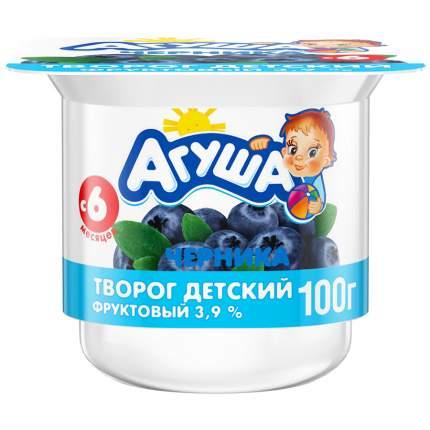 Творожный продукт Агуша черника 3.9% 100 г