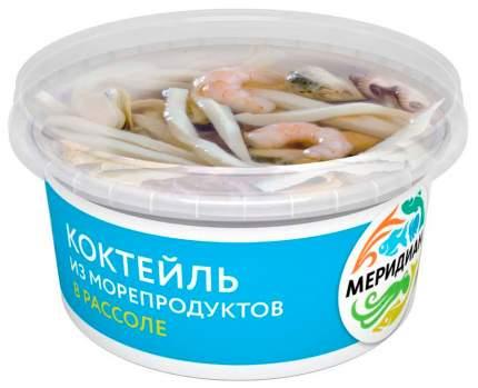 Коктейль в масле из морепродуктов 430 г