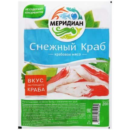 Крабовое мясо Cнежный краб охлажденное 200 г