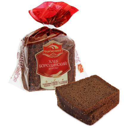 Хлеб Черемушки Бородинский нарезанный 390 г