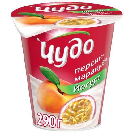 Йогурт Чудо персик-маракуйя 2.5% 290 г