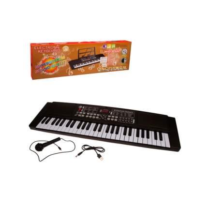 Синтезатор с микрофоном 54 клавиши