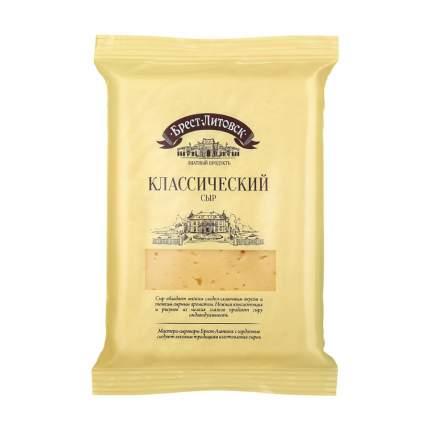 Сыр брест-литовск классический бзмж жир. 45 % 200 г п/п савушкин продукт беларусь