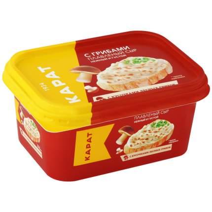 Сыр карат плавленный бзмж с грибами 400 г пл/ванна мзпс карат россия