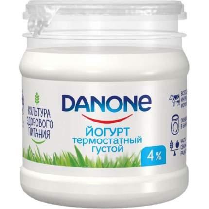 Йогурт Данон термостатный густой 4% 160 г