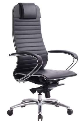 Кресло руководителя Метта Array Samurai K-1.03 Кожа перфорированная NewLeather черная №721