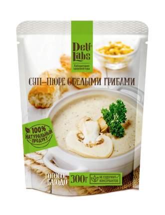 Готовое блюдо DeliLabs суп - пюре с белыми грибами 300 г