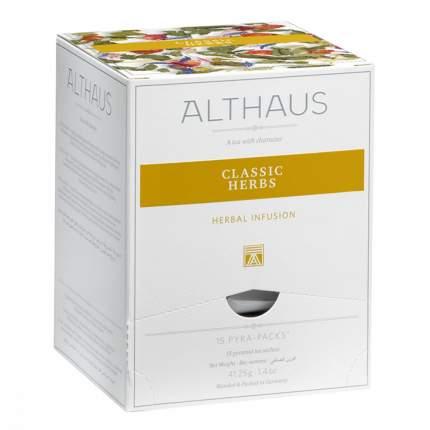 Чай Althaus Classic Herbs травяной 15 пирамидок