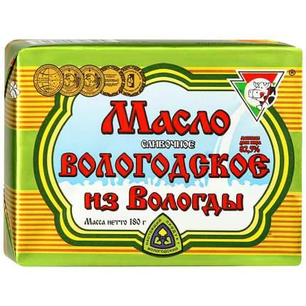 Масло Из Вологды сливочное Вологодское в упаковке-масленке 82.5% 180 г