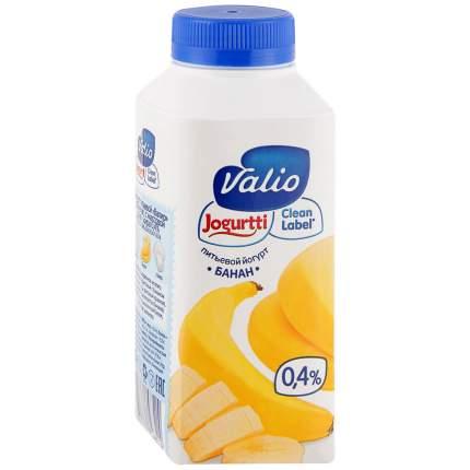 Йогурт питьевой Valio банан 0.4% 330 г