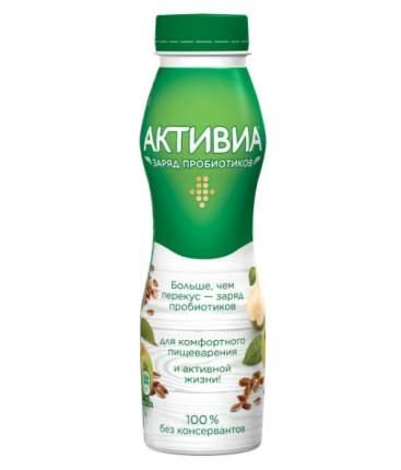 Биойогурт активиа питьевой  вкус печ груши/злак/льнян сем 2,1 % 260 г