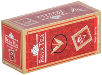 Чай Beta Tea королевское качество черный 25 пакетиков
