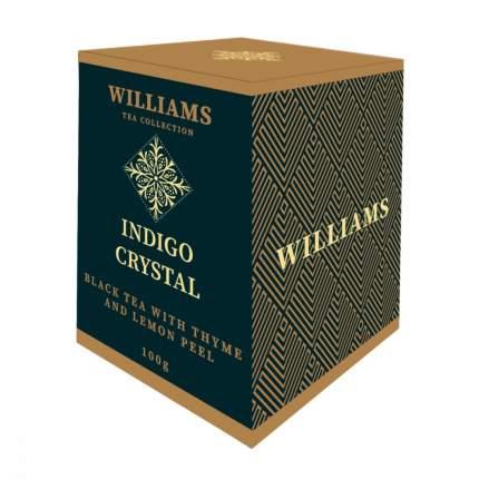 Чай Williams Indigo Crystal черный с чабрецом и цедрой лимона 100 г