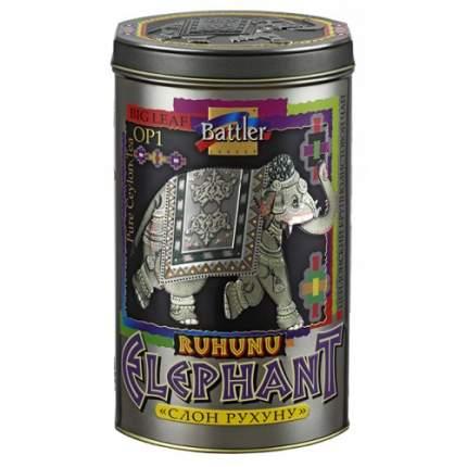 Чай Battler слон Рухуну черный листовой OP 200 г