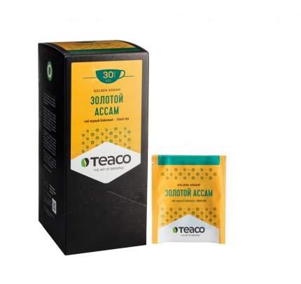 Чай Teaco золотой ассам черный 30 пакетиков