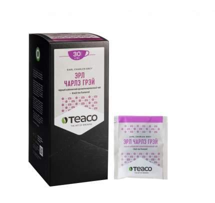 Чай Teaco Эрл Чарлз грей черный 30 пакетиков