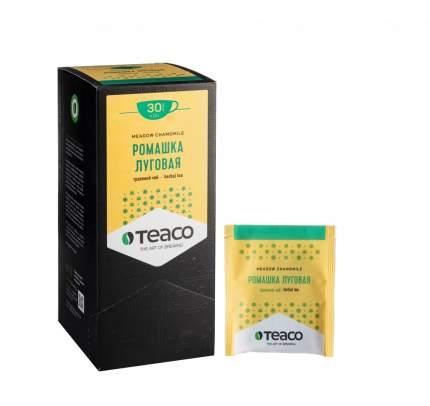 Чай Teaco ромашка луговая травяной 30 пакетиков