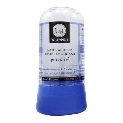 Дезодорант кристаллический натуральный 80 г