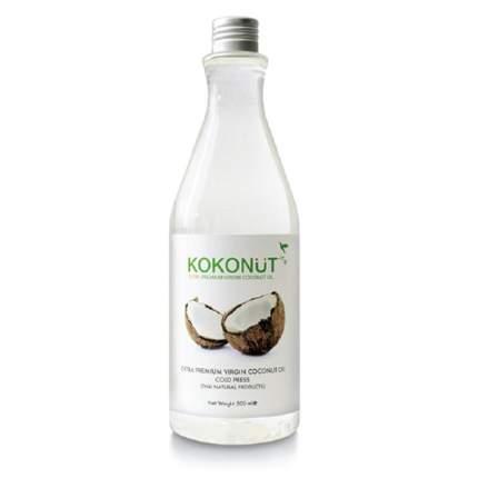 Масло Kokonut кокосовое экстра премиум 100% бутылка 500 мл