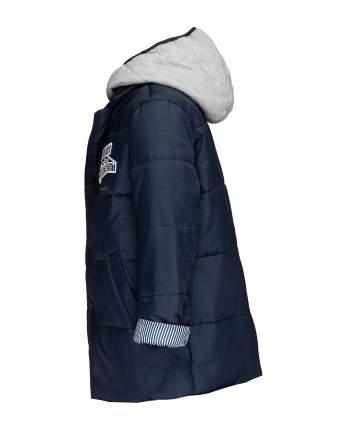 Пальто для мальчиков Gulliver, цв. синий, р.98
