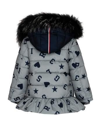 Куртка для девочек Gulliver, цв. серый, р.128