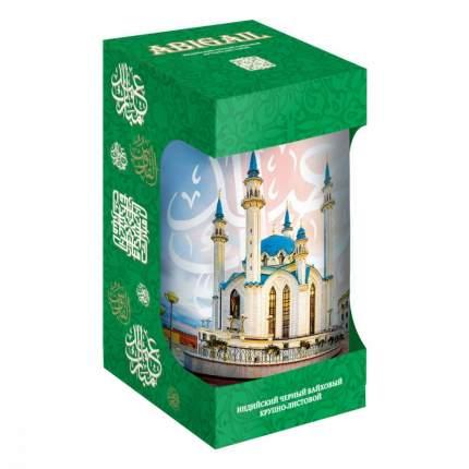 Чай Abigail мечеть кул шариф черный крупнолистовой в кружке 50 г