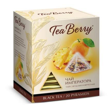 Чай Tea Berry чай императора черный с добавками 20 пирамидок