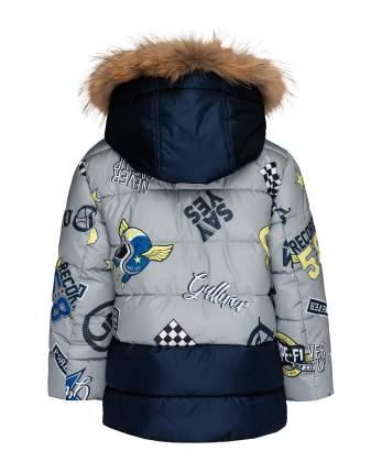 Пальто для мальчиков Gulliver, цв. серый, р.98