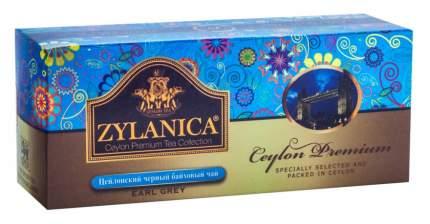 Чай Zylanica Ceylon Premium черный байховый с бергамотом 25 пакетиков