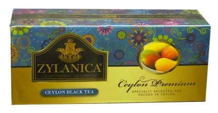 Чай Zylanica Ceylon Premium черный байховый с манго 25 пакетиков