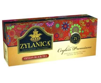 Чай Zylanica Ceylon Premium черный 25 пакетиков