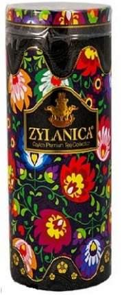 Чай Zylanica Folk Desing Black черный листовой OPA со свечой 100 г